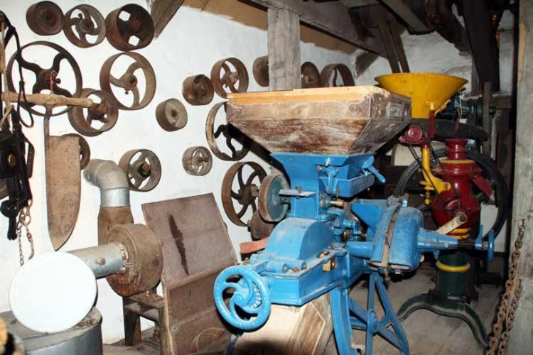 photo of the Corn Mill machinery