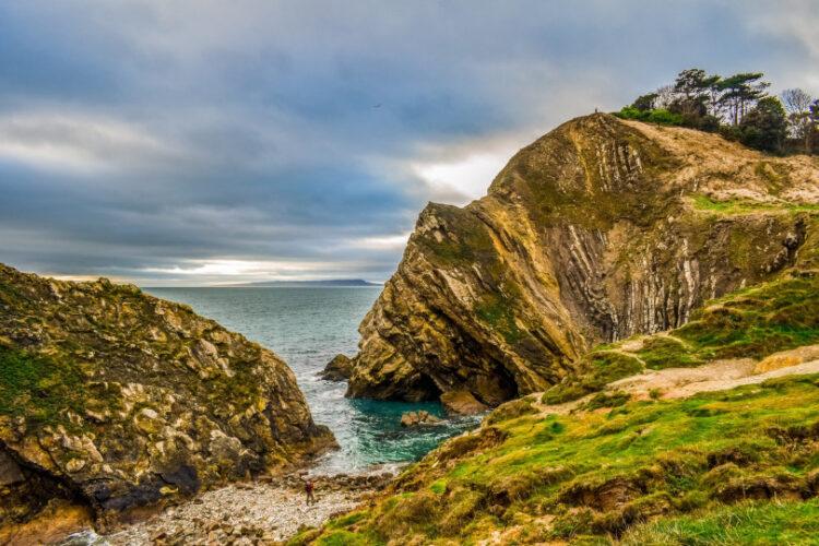 Photo of the beautiful Jurassic Coastline in Dorset