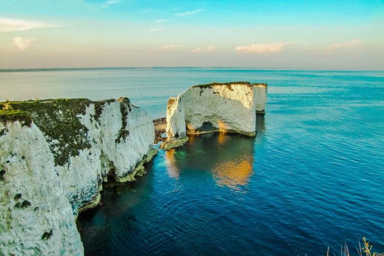 Photo of Old Harry Rocks in Dorset