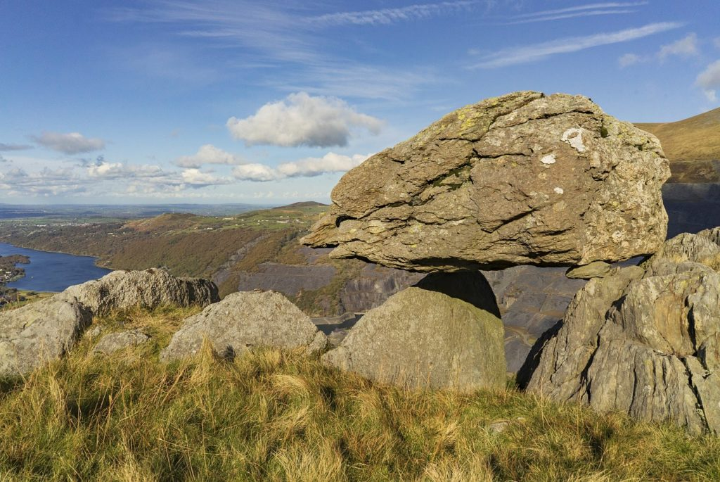 scenic view of boulders