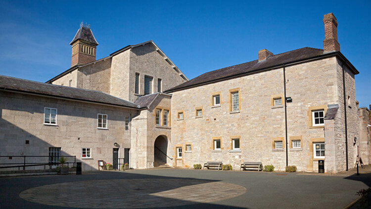 Outside shot of Ruthin Gaol