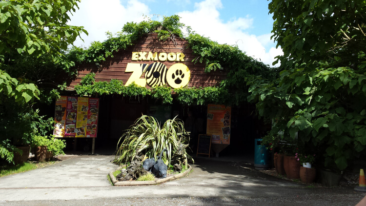 Entrance of Exmoor Zoo