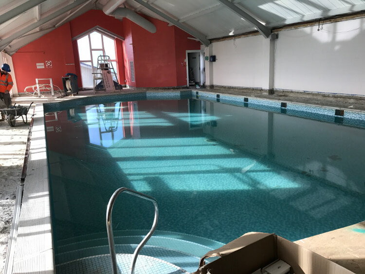 Sandymouth swimming pool redevelopment