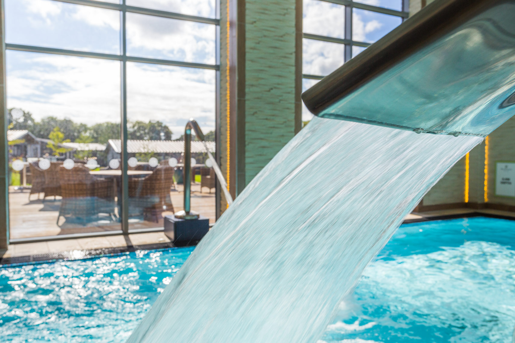 Hydro pool detail photo