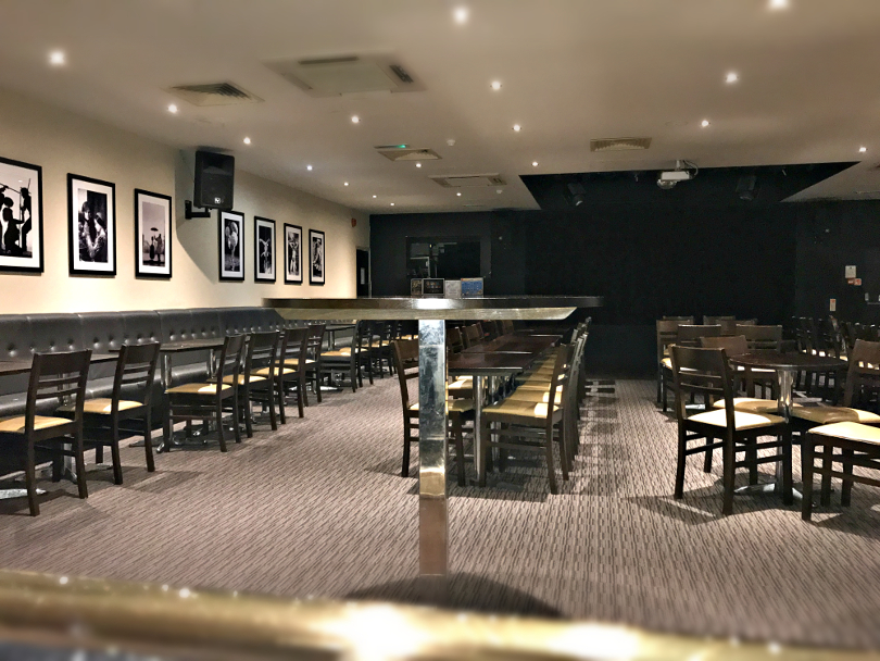 Photo of the North Star lounge in Talacre Beach's clubhouse