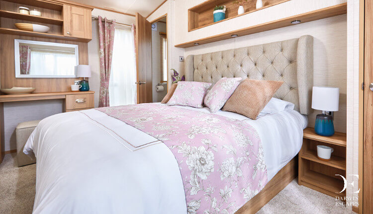 Interior shot of a ABI Ambleside master bedroom