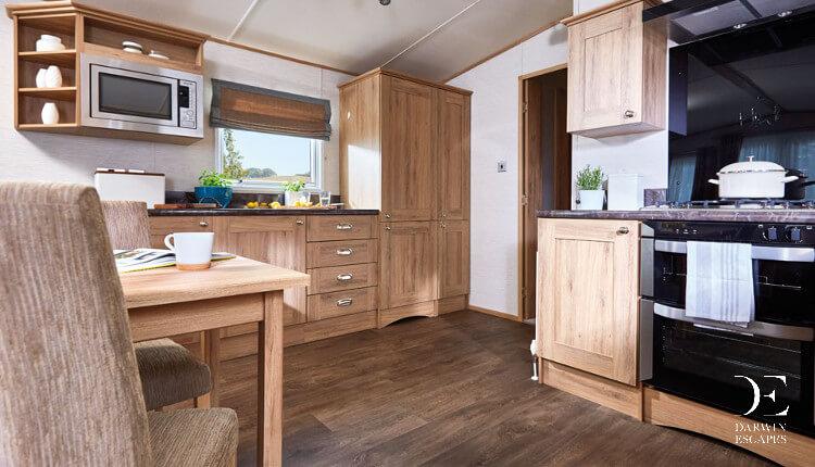 Interior shot of the ABI Ambleside kitchen