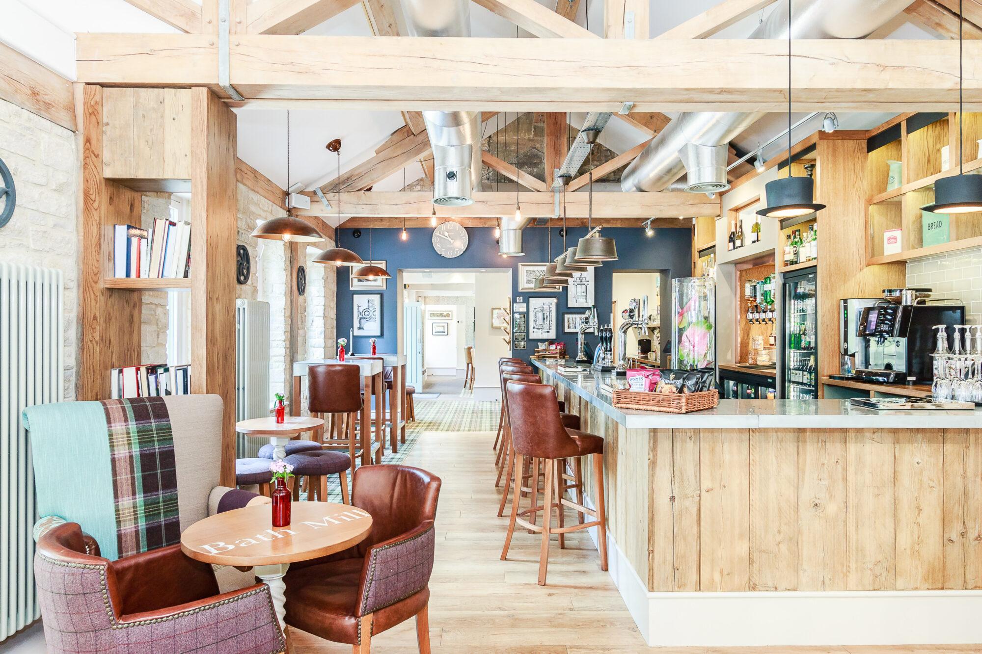 Interior shot of the Brook Bar & Bistro