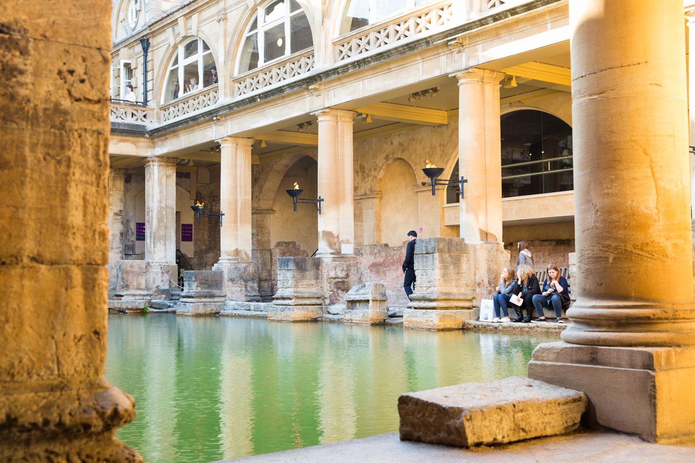 Photo of the Roman Baths in Bath city centre