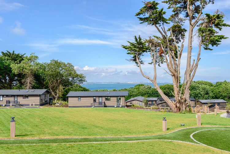 Views of the sea from the complex at Woodside Bay Lodge Retreat