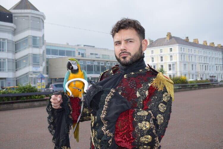 Photo of Ryan Thomas as Captain Hook