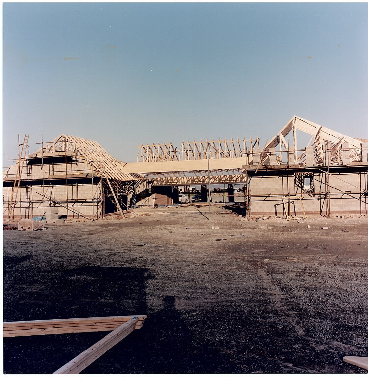 Photo of Aberconwy Resort & Spa main building during construction