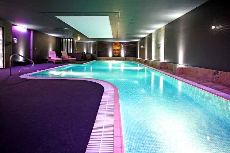 Photo of the swimming pool at Aberconwy Resort & Spa