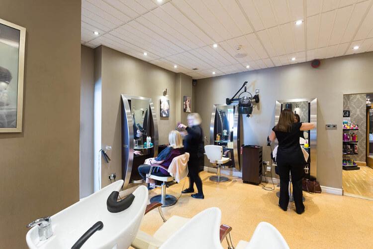 Photograph of Mali's hair salon
