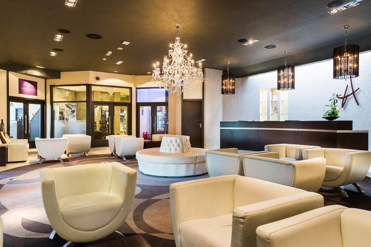 Aberconwy Resort & Spa's reception area