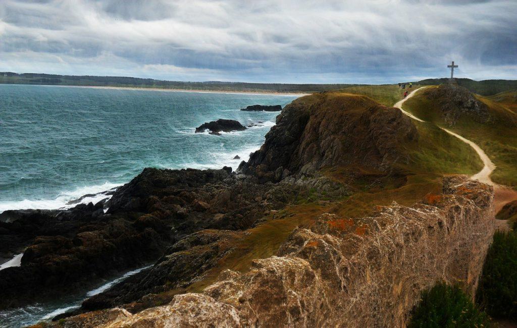 Welsh coastal path on Angelsey