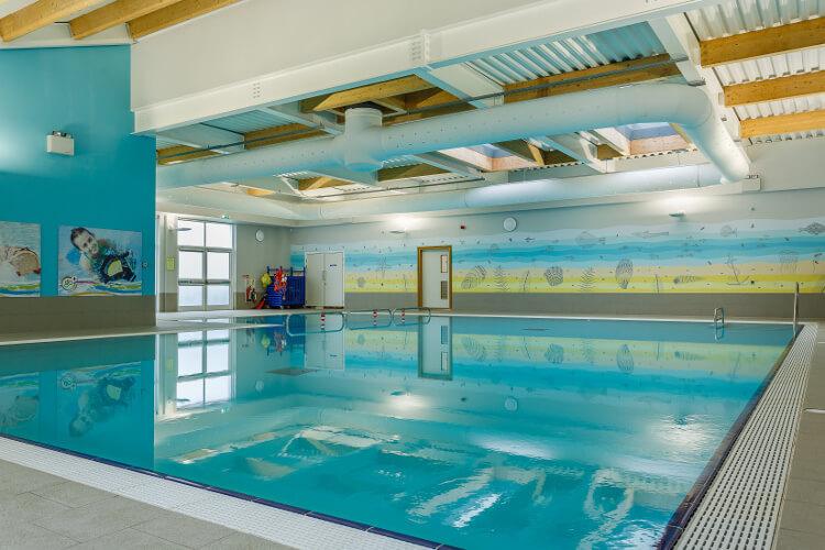 Swimming pool at Piran Meadows