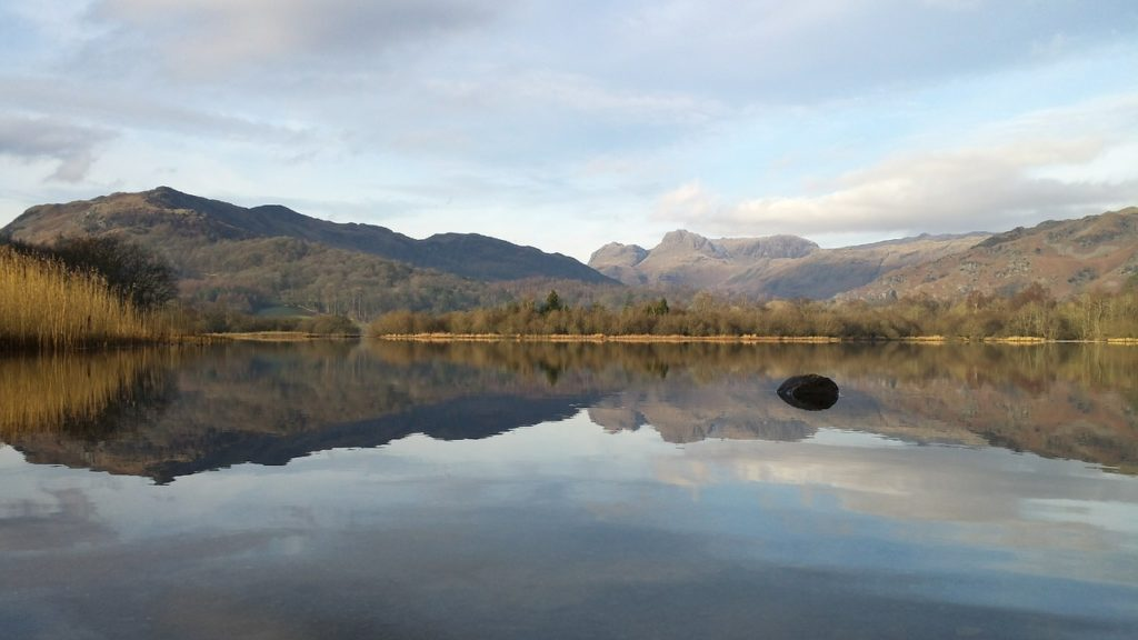 Photo of a beautiful lake in the Lake District