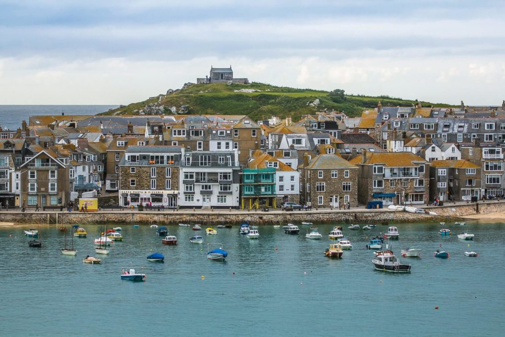 Harbour front of St Ives
