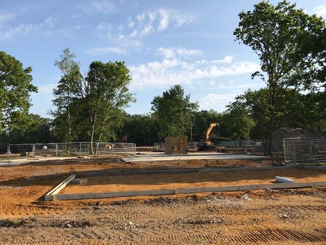 Photo of Norfolk Woods under construction