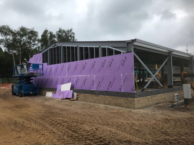Facilities at Norfolk Woods under construction