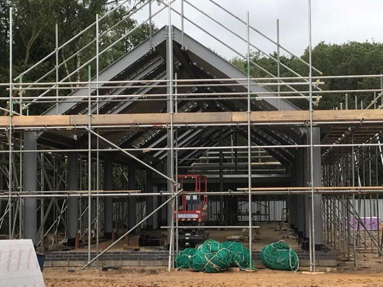 Norfolk Woods facilities under construction