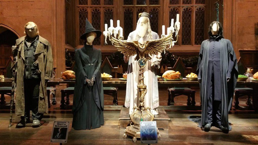 handmade costumes at Harry Potter studio tour