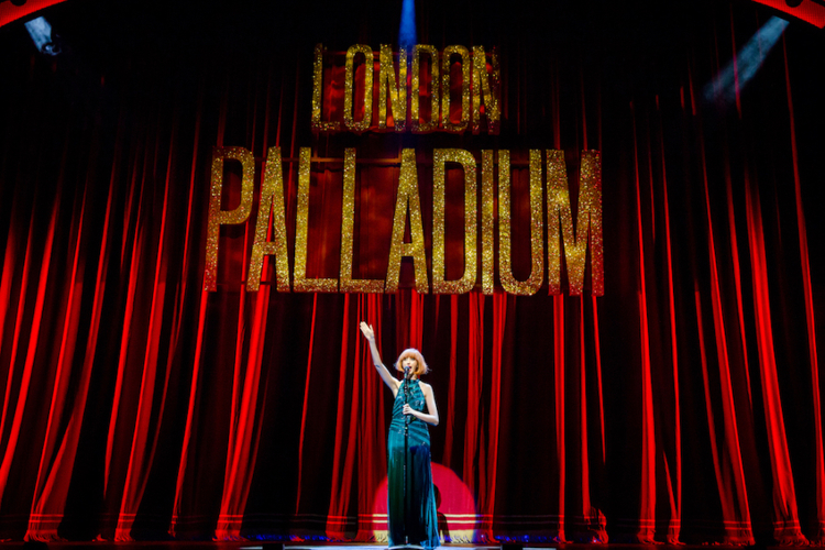 Photo of Kara Lily Hayworth playing Cilla Black in Cilla the Musical