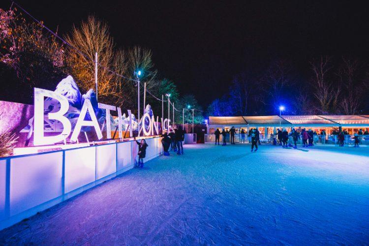 Ice rink at Bath on Ice