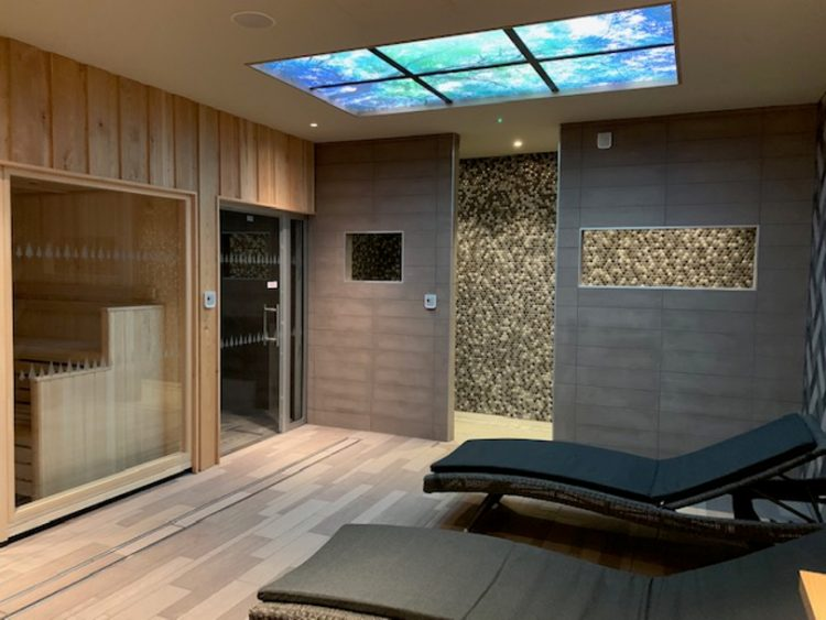 Interior shot of the Relaxation room at Norfolk Woods