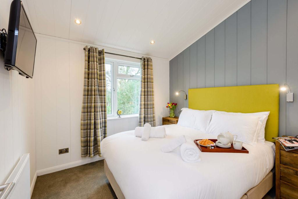 Wareham Forest Lodge Bedroom
