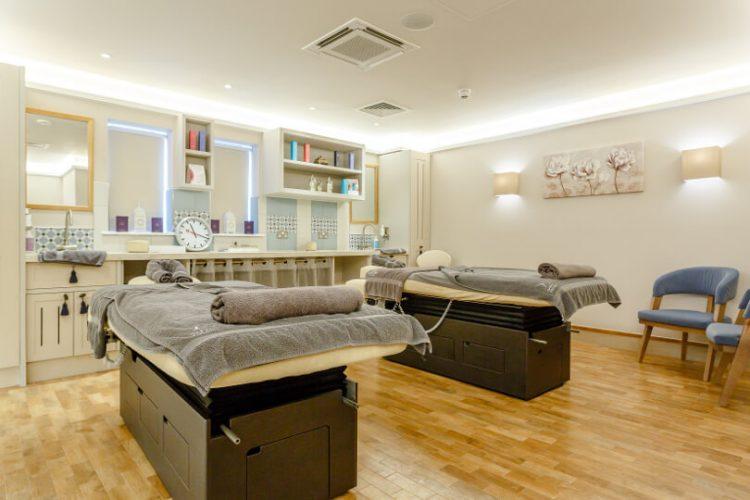 Ezina spa treatment beds
