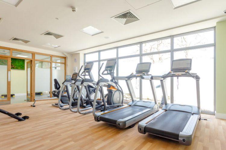 Photo of the gym at Hawkchurch Resort