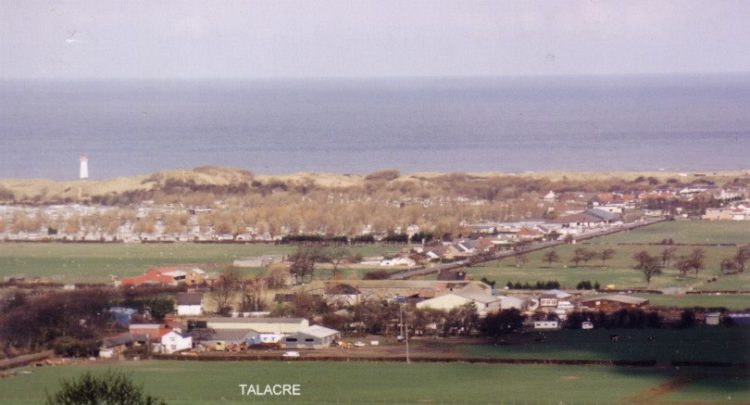 Photo of Talacre from the distance