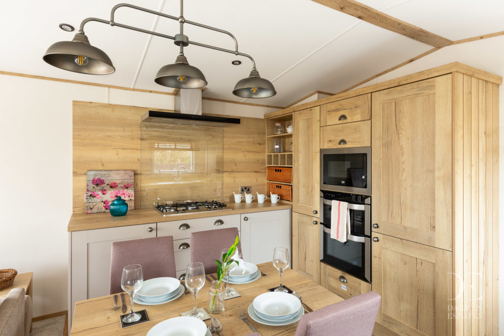 Interior shot of the ABI Ambleside kitchen and dining area