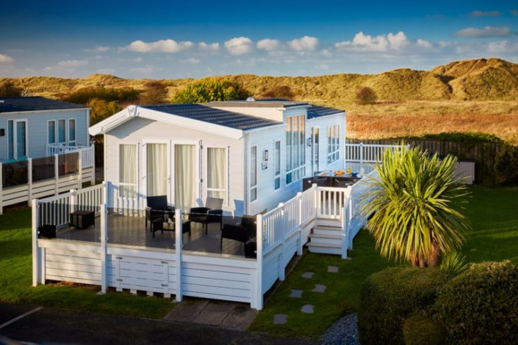 Photo of an ownership lodge at Talacre Beach Resort