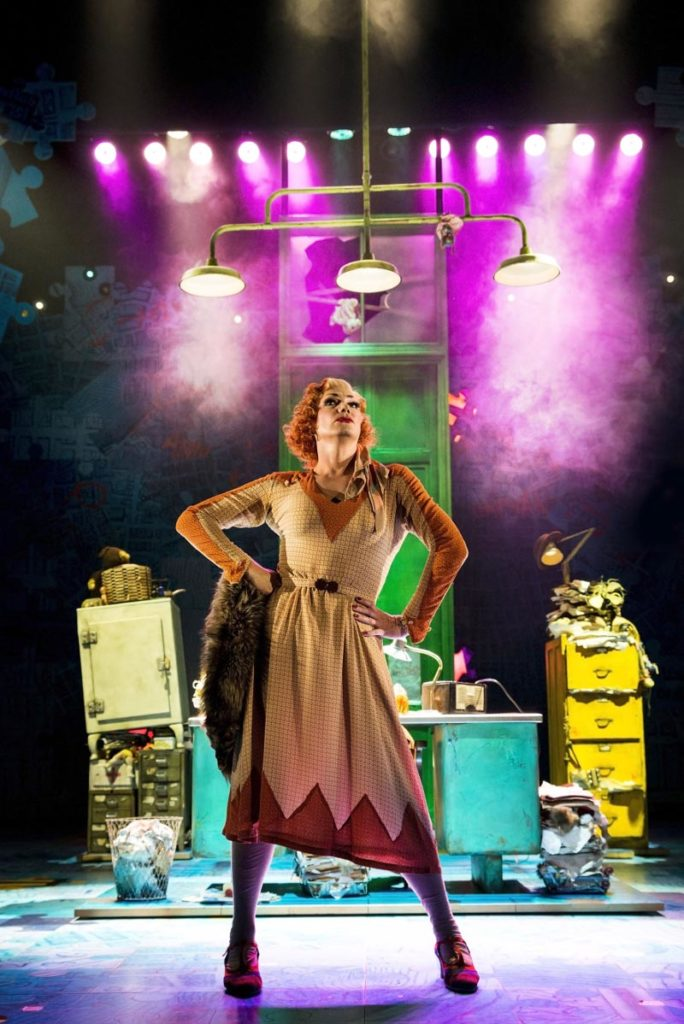 Photo of Craig Revel Horwood playing Miss Hannigan in Annie