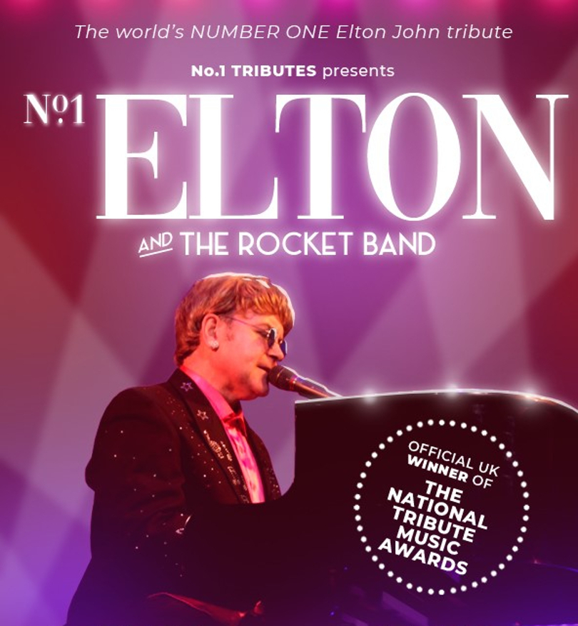 Promo poster for the Number 1 Elton tribute