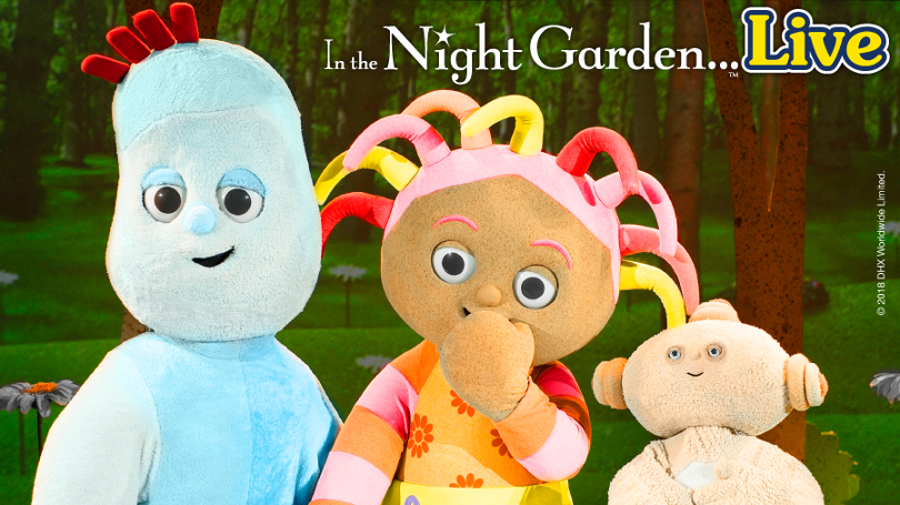 Promo poster for In the Night Garden