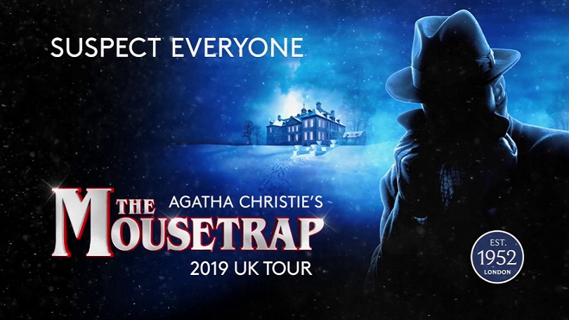 Promo poster for the mousetrap theatre performance