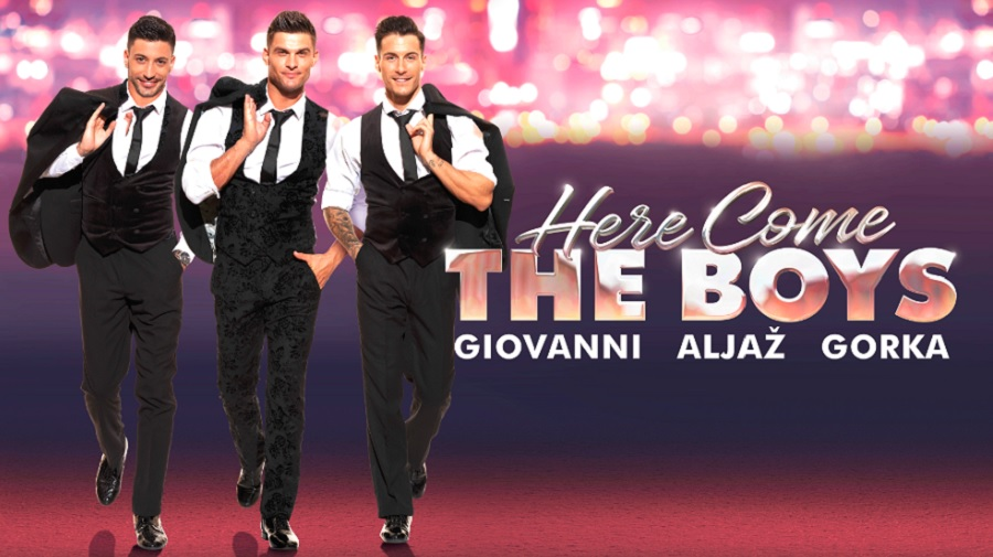 Promo poster for here come the boys