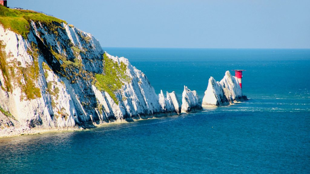 Photo of the Needles in the Isle of Wight