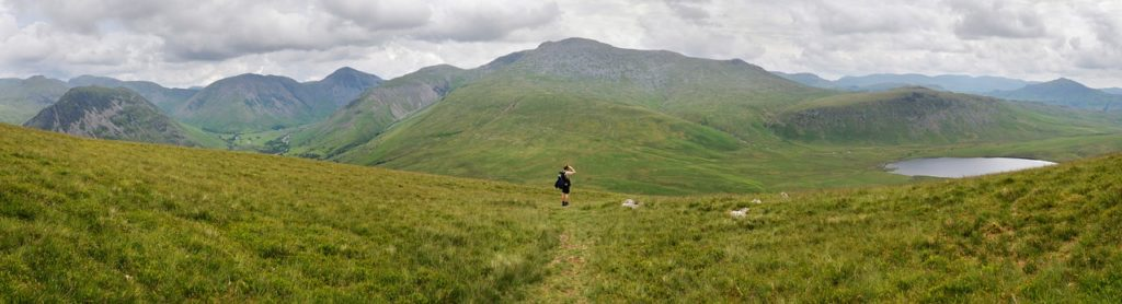 Photo of Scafell Pike in the Lake District
