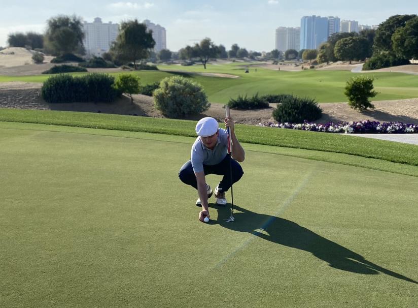 David Carey Golf Putting