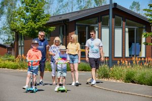 family walking. why own a holiday home with Darwin Escapes?