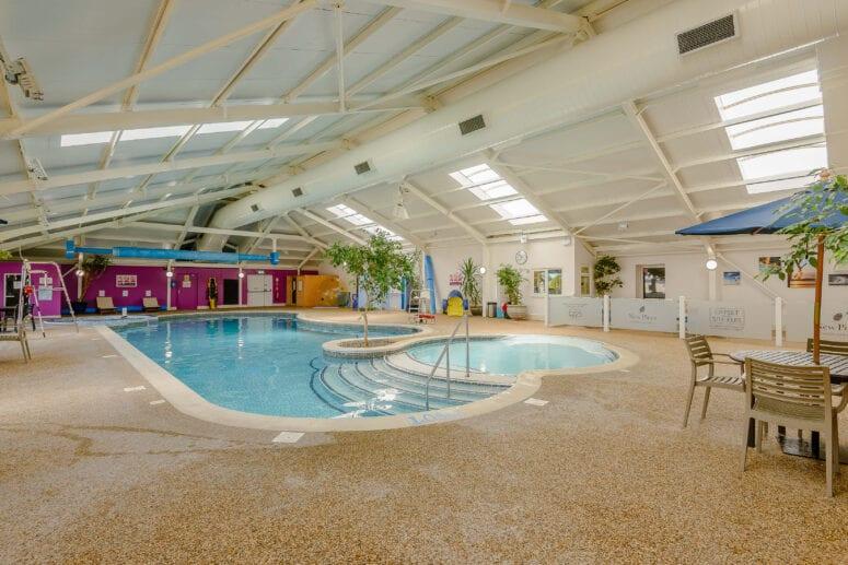 swimming pool at New Pines